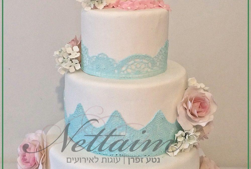 עוגת חתונה מחיר-בדיקת עלות עוגה