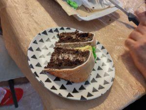 הבפנים של העוגה