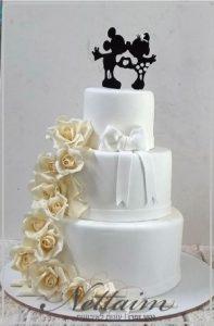 עוגת חתונה מיקימיני